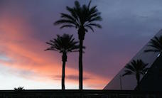 Nightfall at the Luxor Hotel - Las Vegas, Nevada, USA, 5.10.2013