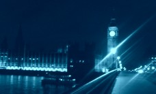 Westminster blue night