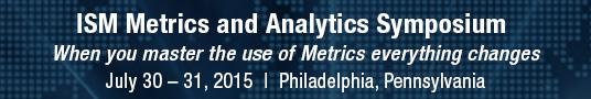 ISM Metrics Banner
