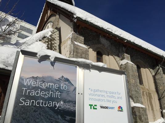 Tradeshift Sanctuary, Davos