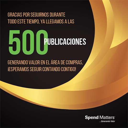500 publicaciones