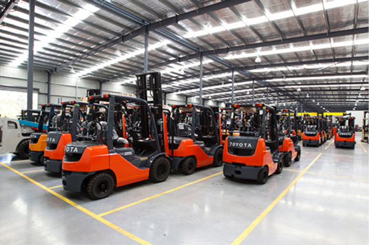Toyota Material Handling Talks Digital Transformation