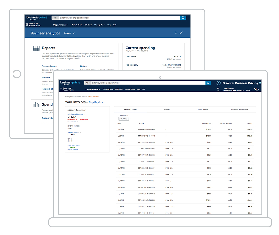 Use Pay by Invoice at Amazon Business to customize payment processing