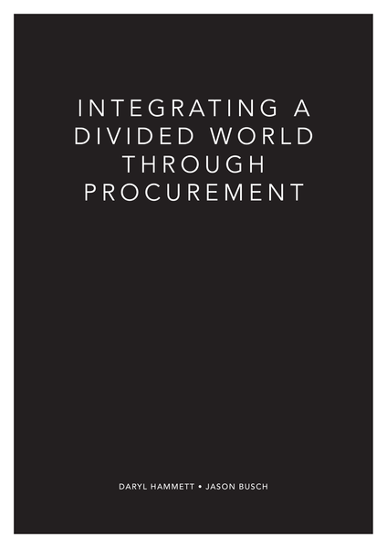 Download: Integrating a Divided World Through Procurement